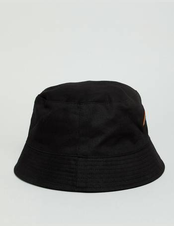 a321a51dd95 ASOS DESIGN. bucket hat in black with rainbow embroidery