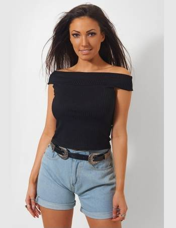 a39be091913399 Black Bardot Top from The Fashion Bible