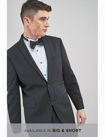 14bddeaa89f Black Regular Fit Tollegno Signature Tuxedo Suit: Jacket from Next