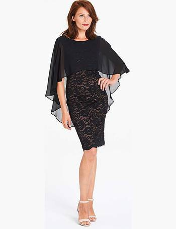 Lace Dress with Cape from Jd Williams. Quick View · Gina Bacconi 4bbb4791d