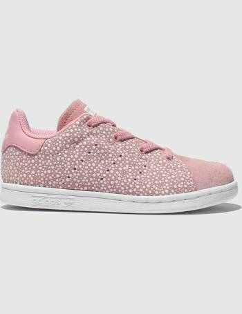 best sneakers 53678 69da8 Pink Stan Smith Trainers Toddler from Schuh