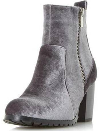 edb23645f Womens Head Over Heels By Dune Grey 'Pippaa' Ankle Boots- Grey from Dorothy
