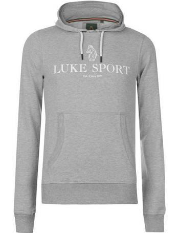 Mens Luke Sport Gordon Zip Hoodie Long Sleeve New
