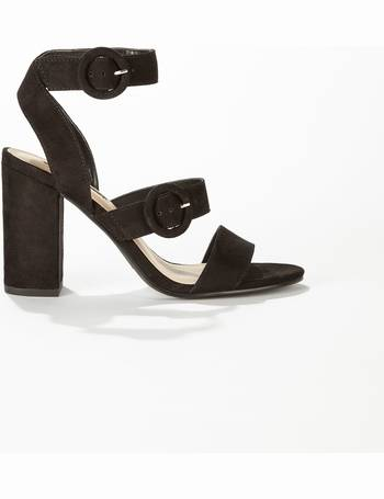 e1f8189c4 Womens Scout Black Buckle Detail Sandals from Miss Selfridge