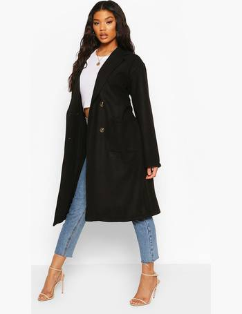 Shop Women's Wrap and Belted Coats from Boohoo up to 80% Off