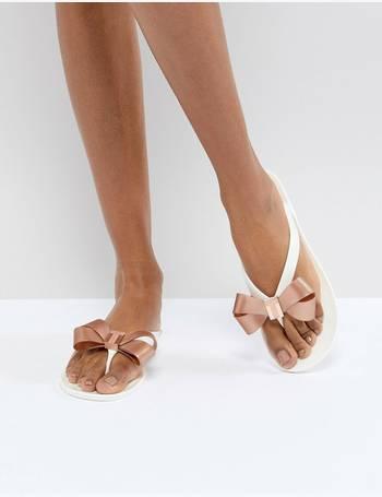 1553ccafc8bd6c Shop Women s Ted Baker Flip Flops up to 40% Off