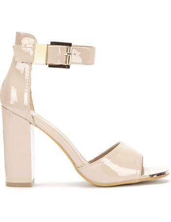 9f9a8e89dd30 Belfast Block Heel Ankle Cuff Sandal from KOI Footwear