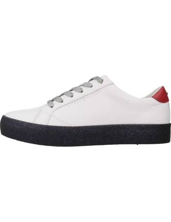 52781b26df56ce Tommy Hilfiger. FW0FW03618 women s Shoes (Trainers) in White