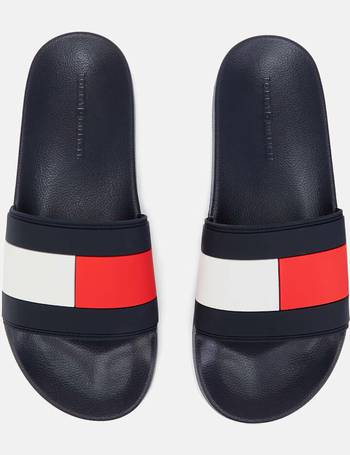 383bd82e3 Shop Men s Tommy Hilfiger Slide Sandals up to 50% Off