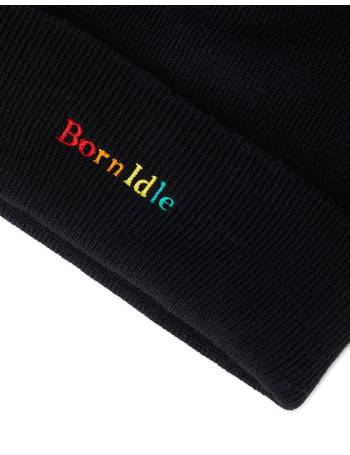 c20b4d9dc25 Born Idle Embroidered Beanie Black from The Idle Man