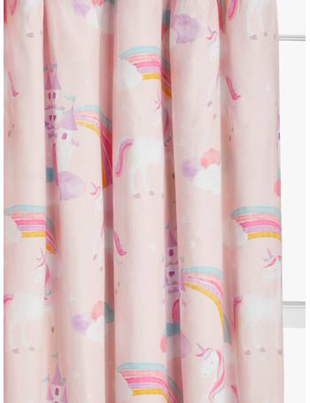 Little home at John Lewis Camping Pencil Pleat Blackout Lined Children Curtains