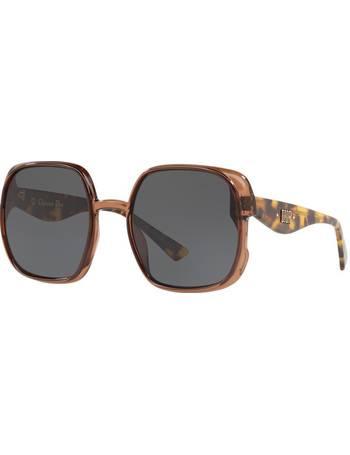 33a8e7c5854f Diornuance 56 Brown Square Sunglasses from Sunglass Hut Uk