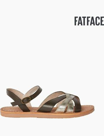 a6c10d5380d7 FatFace Gold Marlow Multi Strap Sandal from Next