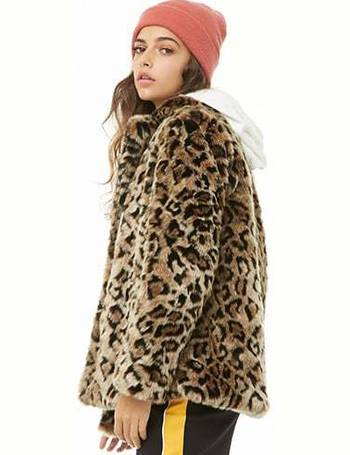 fb3ad8685bda Shop Womens Faux Fur Coats From Forever 21 up to 65% Off | DealDoodle