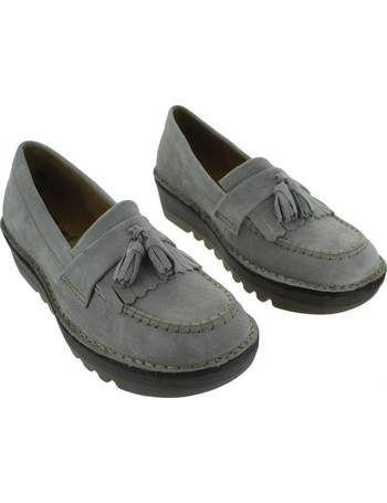 ca6ca950b40 Fly London. Juno in Grey. from Spartoo. £93.99. Juno women s Loafers    Casual Shoes in Pink ...