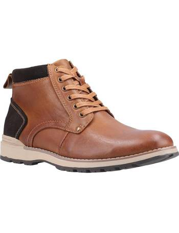 Details about  /Hush Puppies Vertical Limit Brown Leather Boots