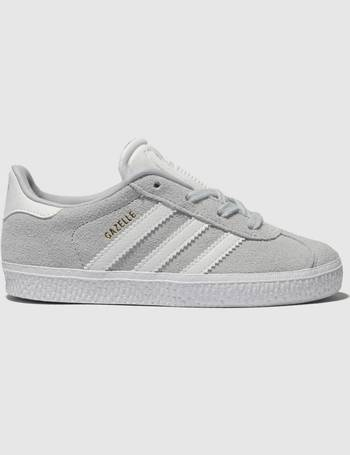 newest 48443 c87c4 Light Grey Gazelle Trainers Toddler from Schuh