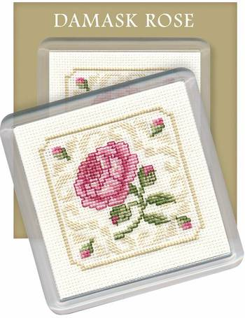Delphiniums Bookmark Counted Cross Stitch Kit by Textile Heritage