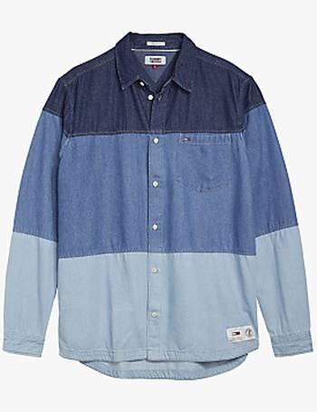 7d05d5fc Shop Men's Tommy Hilfiger Denim Shirts up to 50% Off   DealDoodle