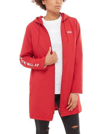 7e9d4b508 Alliance Long Windbreaker Jacket (scooter) Women Red