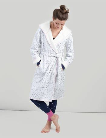 2d31e62339 GREY STAR Ida Jersey Dressing Gown with Fluffy Inner from Joules