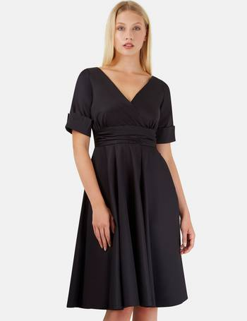 5f845648f895 Shop Women's Black Dresses with Sleeves up to 95% Off | DealDoodle