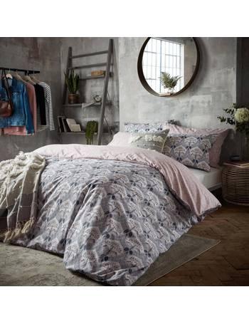 Penguin Check Brushed Cotton Flannelette Duvet Cover Set Fat Face Bedding