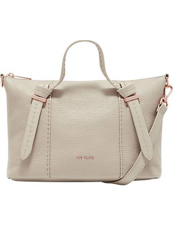 fb625b0ddf Ted Baker. Olmia Knotted Handle Small Leather Tote Bag