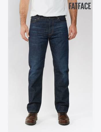 BNWT Fat Face Mens Slim Fit Jeans Trousers Sale Blue 32L 32S
