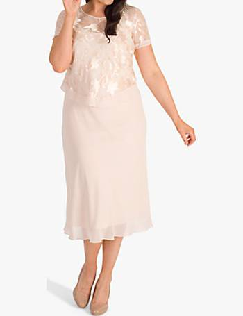 84ec4077519c Chesca. Lily Bead/Embroidered Double Layered Chiffon Dress. from John  Lewis. £295.00. Chiffon Dress with Overtop from John Lewis