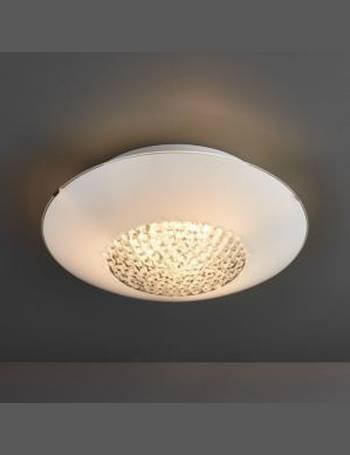 cheaper 20373 f5540 Crystallinity Crystal White 3 Lamp Flush bathroom ceiling light