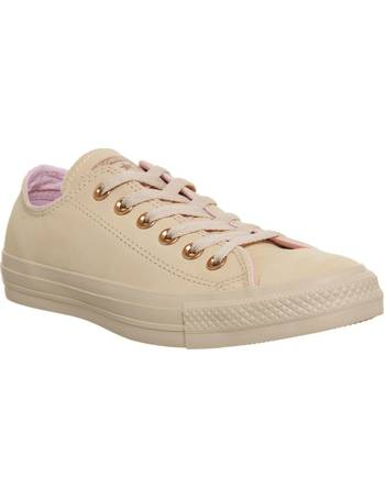 da5ca968703 Converse. All Star Low Leather Trainers. from House Of Fraser
