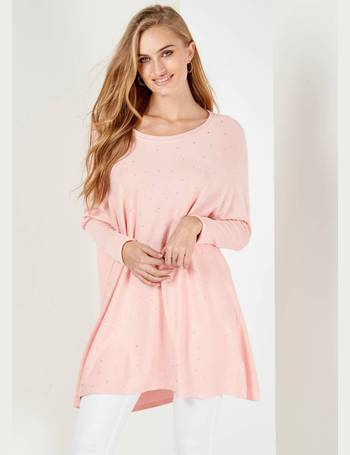 YARDLEY - Studded Front Pink Jumper from Blue Vanilla 15a609bd3