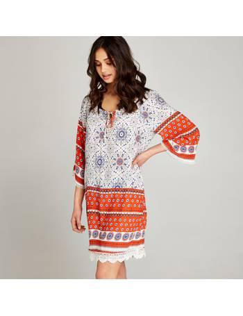 29c8620e0f3 Shop Women's Apricot Tunic Dresses up to 60% Off | DealDoodle