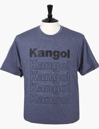 Details about  /KANGOL Mens Big Size Long Sleeved Logo Tee Rufio