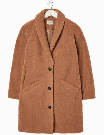 FatFace Natural Caroline Teddy Coat