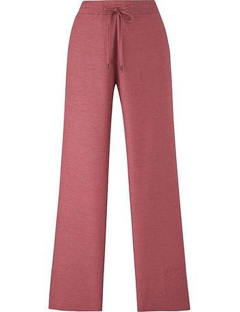 Womens Floral Linen Rich Frill Pocket Crop Trousers JD Williams