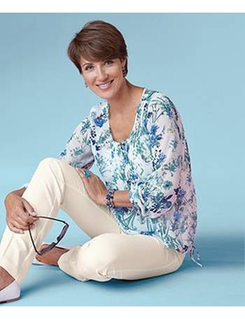021f6c2f3d38e Shop Damart Women s Printed Blouses up to 75% Off