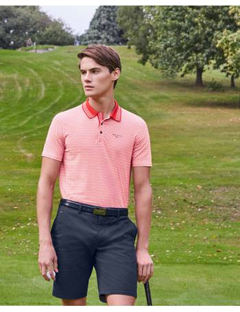 dfda7a7c0 Mini geo print golf polo shirt Red from Ted Baker
