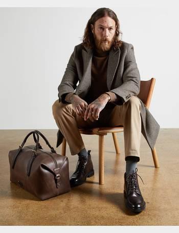 Ted Baker Men S Coats Up To 80, Ted Baker Loch Herringbone Peacoat