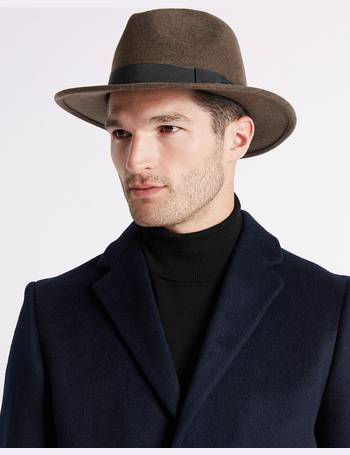 c195950754bd1 Pure Wool Ambassador Hat with Stormwear from Marks   Spencer