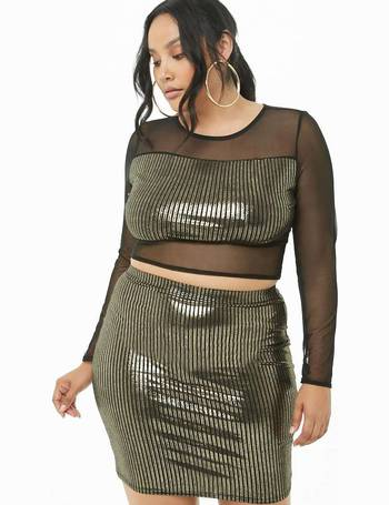 e0d9ff2b94 Shop Women's Forever 21 Plus Size Skirts up to 70% Off | DealDoodle