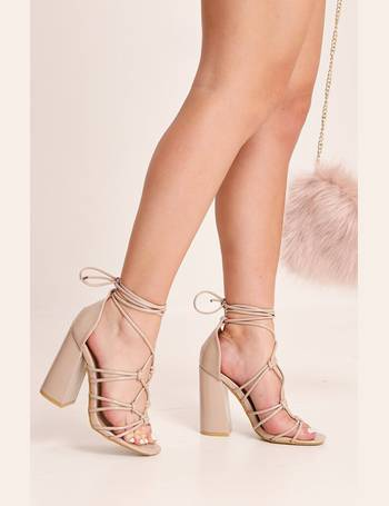 d368e3cdc9d Shop Women's Lace Up Heels up to 85% Off | DealDoodle
