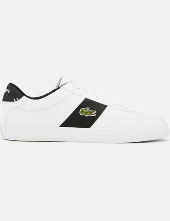 4598ca20ae1 Lacoste. Men s Court-Master 119 2 Perforated Leather Trainers