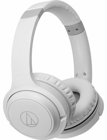 60a6475671d ATH-S200BTWH On-Ear Wireless Headphones-White from Argos