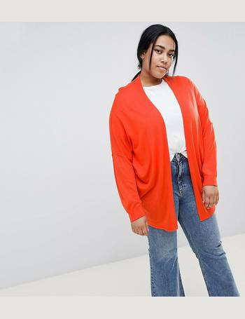 035624e259c ASOS DESIGN Curve Eco Cardigan In Oversize Fine Knit from ASOS
