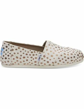 e3886981b12b Rose Gold Dots Women s Classics Slip-On Shoes from Toms Uk