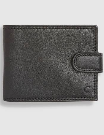 Black Monogram Leather Extra Capacity Wallet from Next 3947e0f08ea2