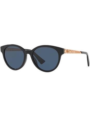 13cf15652d09 Diorama7 52 Black Square Sunglasses from Sunglass Hut Uk