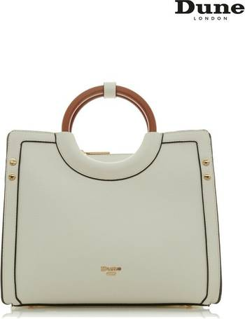 c5f6c0bc1fdb Accessories White Medium Wooden Handle Tote Bag from Next